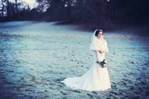 Vintage winter wedding in New York Devon Wedding photographer