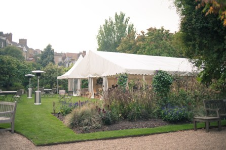 Chelsea Physic Garden wedding