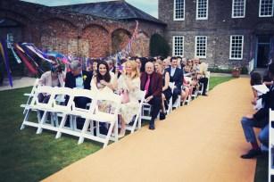 Englich country garden wedding at Kingston Estate Devon photographer 19