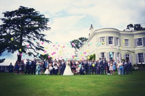 Liberty Pearl Devon wedding photographer Deer Park hotel creative colourful fun 16
