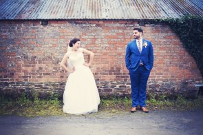Liberty Pearl Devon wedding photographer The Oak Barn quirky vintage 26