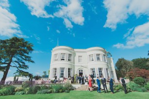 Stylish vintage Devon wedding Deer Park Hotel