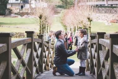 Liberty Pearl's surprise proposal Gidleigh Park Devon Grace Elizabeth Photography
