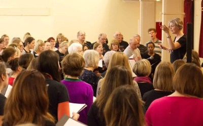 How to keep the community aspect of choir strong…