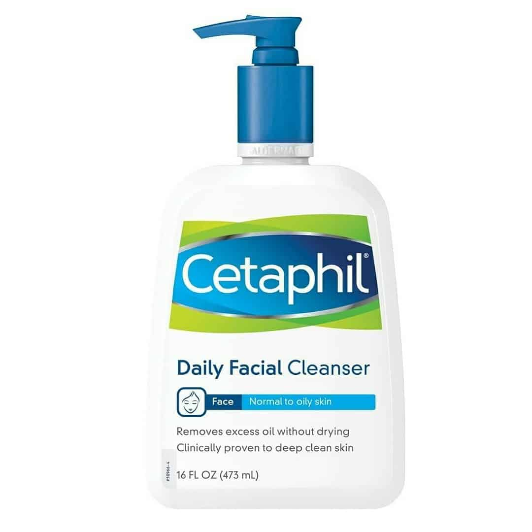 Cetaphil Face Wash, Daily Face Cleanser for Normal to Oily Skin, 16 oz