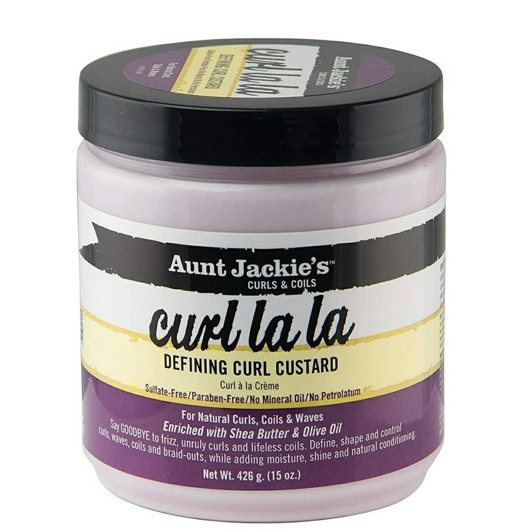 Aunt Jackie's Curl La La, Lightweight Curl Defining Custard 15 Ounce Jar