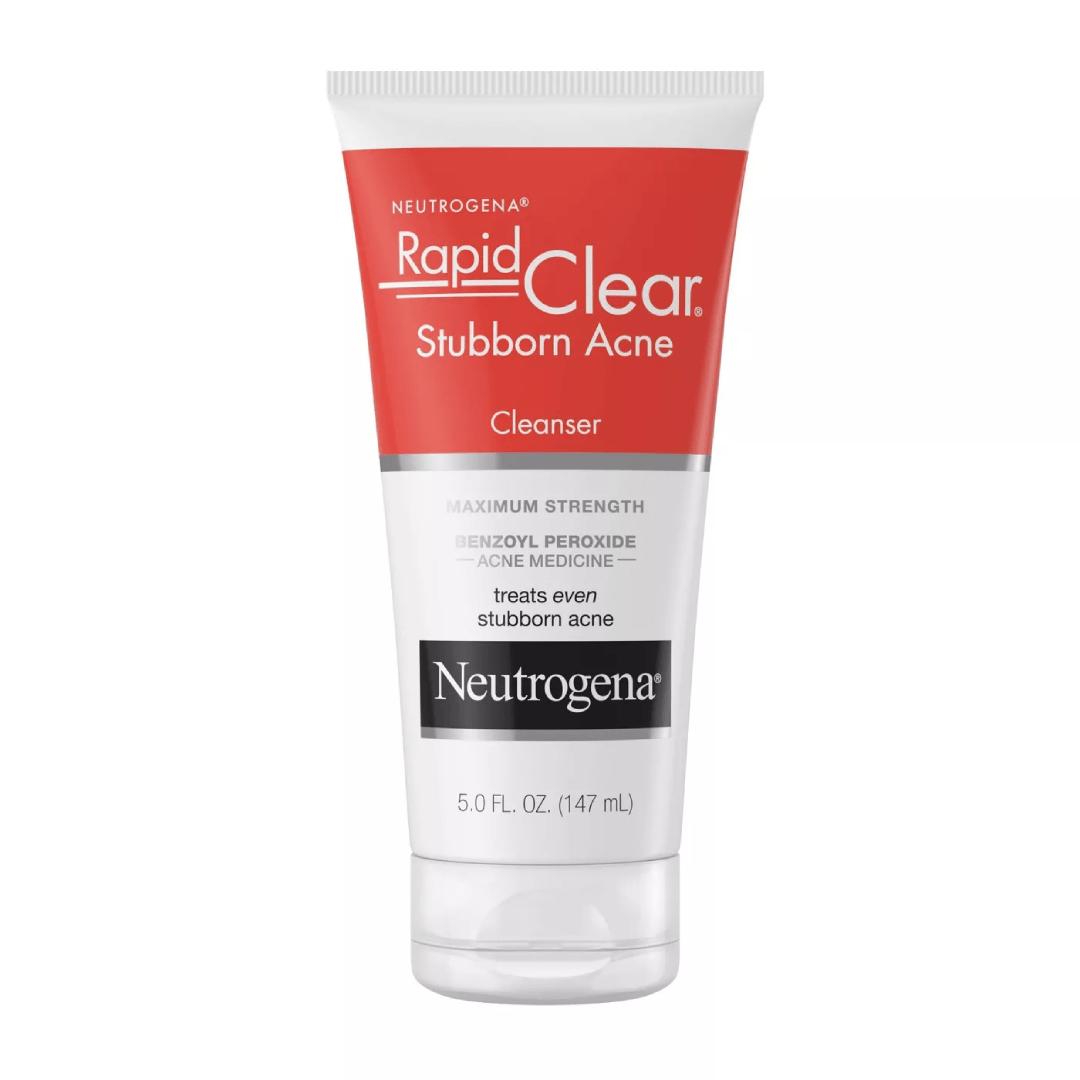 Neutrogena Rapid Clear Stubborn Daily Acne Facial Cleanser