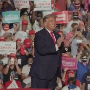 President Trump Kills COVID at Florida Rally FEATURED