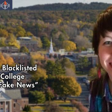 "Melissa ""Mish"" Zimdars Blacklist Fake News"