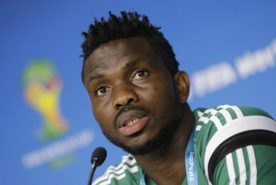 Joseph Yobo, Former Super Eagles captain
