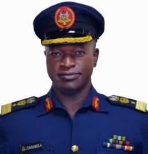 Air Commodore Ibikunle Daramola, Spokesman Nigeria's Air Force, NAF
