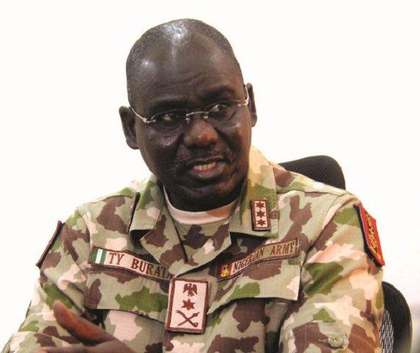 Tukur Buratai , Chief of Army, Staff lieutenant General