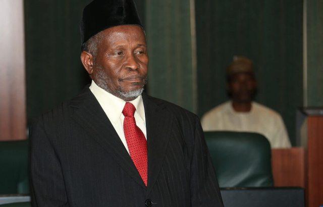 Justice Tanko Muhammad, Acting Chief Justice Of Nigeria