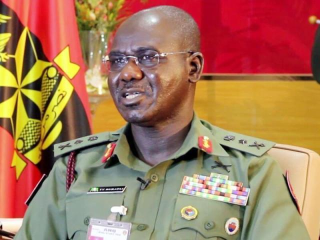 Luitenant General Tukur Buratai, Chief of Army Staff