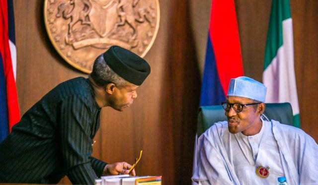 President Muhammadu Buhari, And Vice President Yemi Osinbajo