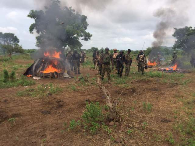 Troops Kill 10 Bandits In Clearance Operation