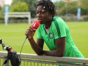 Sisat Lamina Oshoala, Nigerian Professional Tootballer Plays For Spanish Side FC Barcelona Femení