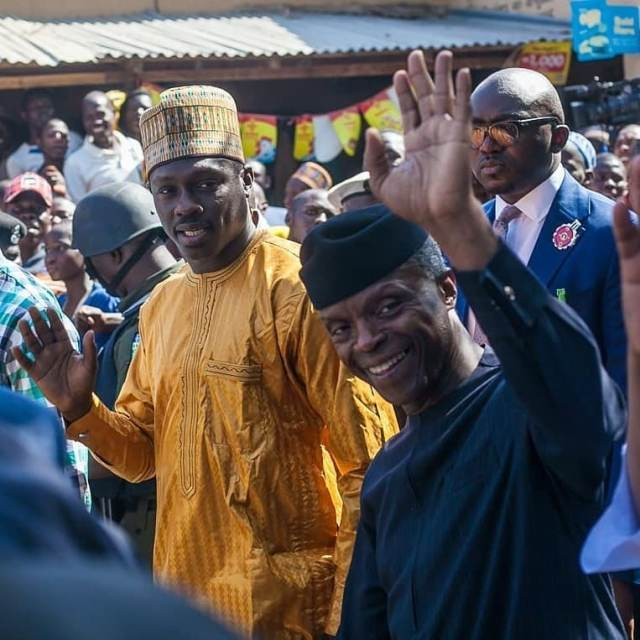 Vice President Yemi Osibanjo In Kano