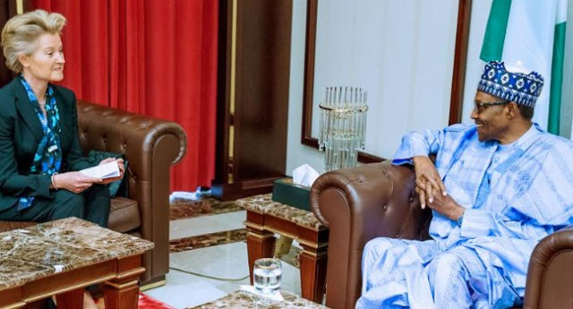 Nigeria Welcomes Germany's Investment Buhari Tells Envoy