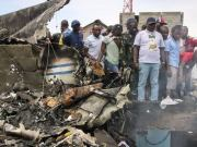 Dr Congo Plane Carrying 17 People Crashes Into Town
