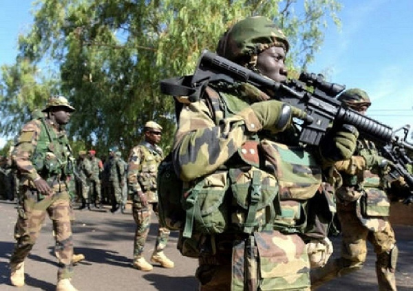 Security Task Force Flags Off Operation Accord Against Bandits