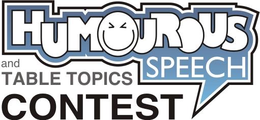 Humorous Speech and Table Topics Contest logo