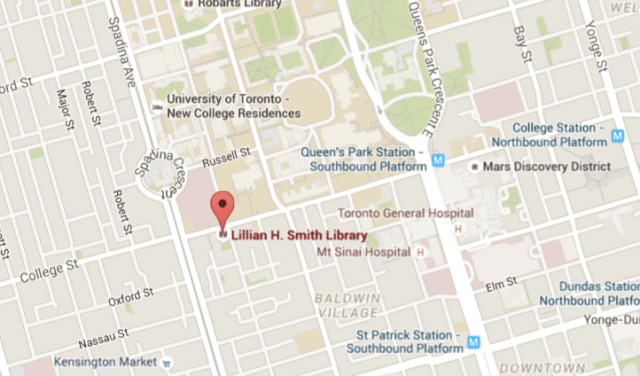 Lillian H. Smith Map