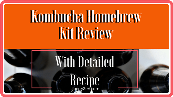 Kombucha Starter Kit Review and Recipe