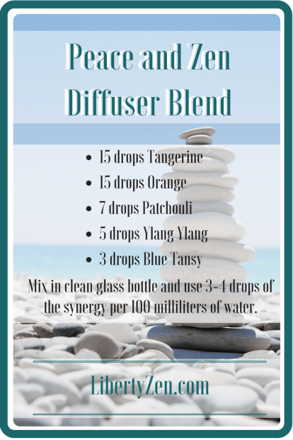 Peace and Zen Diffuser Blend