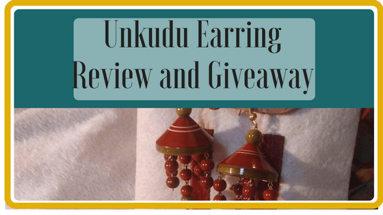 Unkudu Earring Review and Giveaway