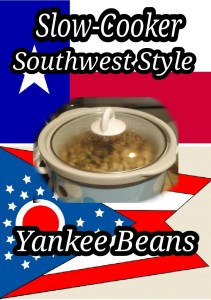Slow cook white beans