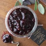 Blueberry Sage Chutney from Knead to Cook