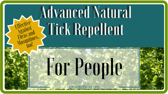 All Natural Advanced Tick Repellent – For Humans