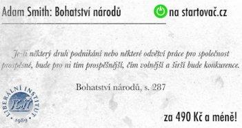 Předobjednávka Bohatství národů Adama Smithe