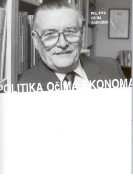 Book Cover: Buchanan, J. (2002) - Politika očima ekonoma
