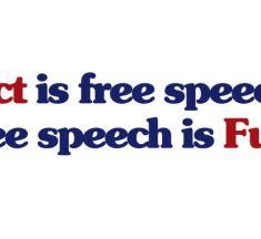 Lhaní v kampani, Šikmoocí a Fuct – svoboda slova