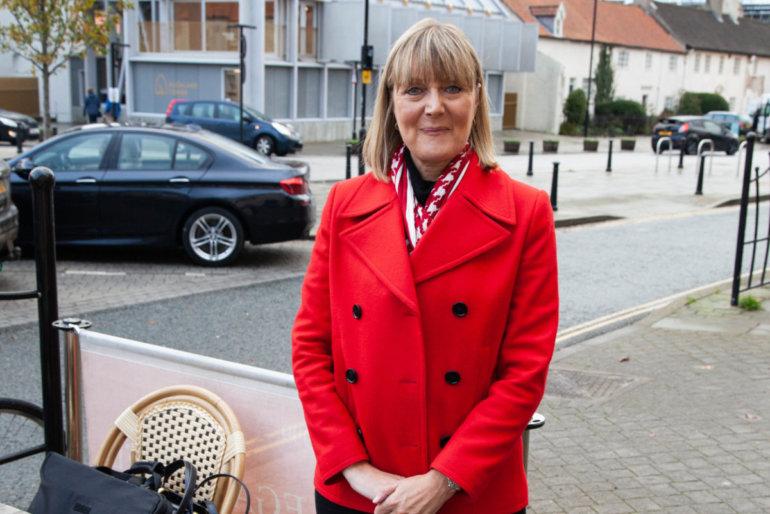 Joy Allen, die Bürgermeisterin von Bishop Auckland (Quelle: J. Smirnova)