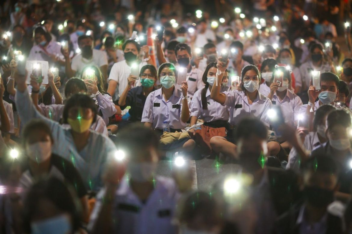 Proteste in Thailand Foto: Shutterstock kan Sangtong