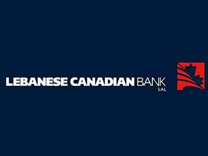 Le logo de la défunte Lebanese Canadian Bank