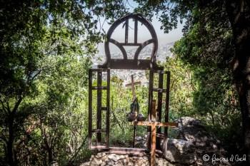 Hiking toward Harissa Lebanon