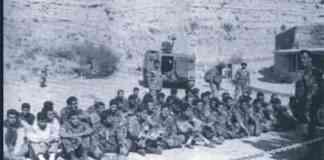 Photo: Capture d'écran d'une vidéo de militaires libanais à Souk el Gharb en 1989 (reportage original inconnue)