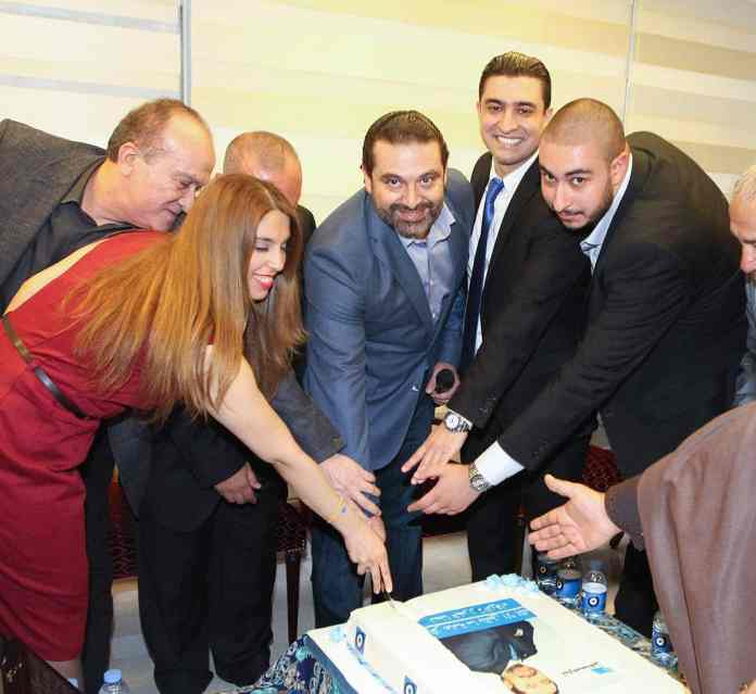 Saad Hariri en campagne électorale. Crédit Photo: Dalati & Nohra.