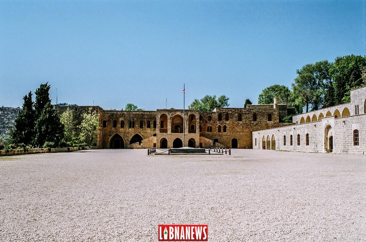 Madafa du Palais de Beiteddine. Crédit Photo: François el Bacha pour Libnanews.com. Tous droits réservés.