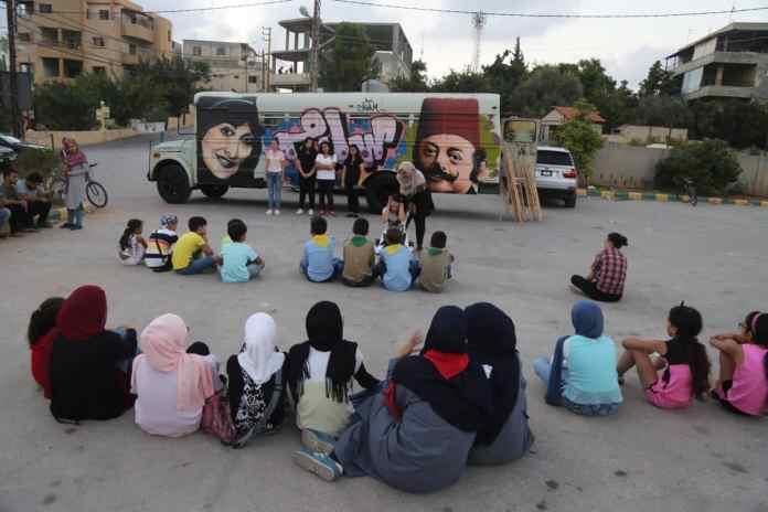 Crédit Photo: Arts Bus Caravan