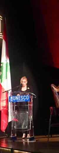Mme Sahar Baassiri, Ambassadrice, déléguée permanente du Liban auprès de L'UNESCO