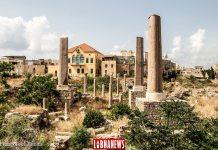 La vielle ville de Tyr, le site de la cathédrale croisée. Crédit Photo: Francois el Bacha