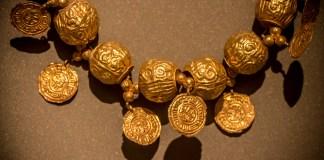 Les bijoux mamelouks du Musée National de Beyrouth. Crédit Photo: François el Bacha