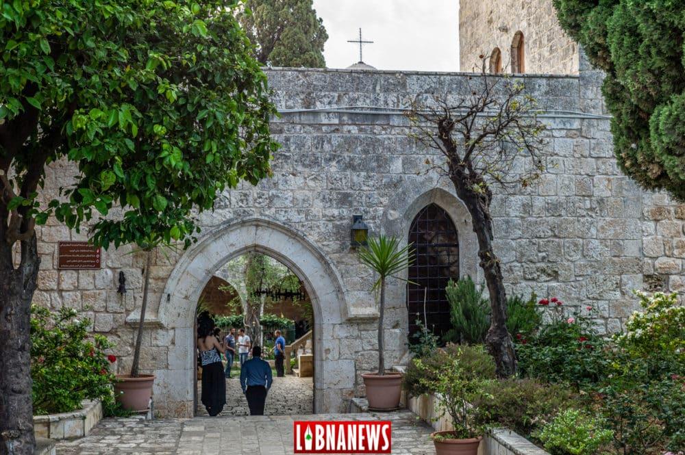 Le Monastère Orthodoxe de Balamand au Nord Liban. Crédit Photo: Francois el Bacha, pour Libnanews.com. Tous droits réservés.