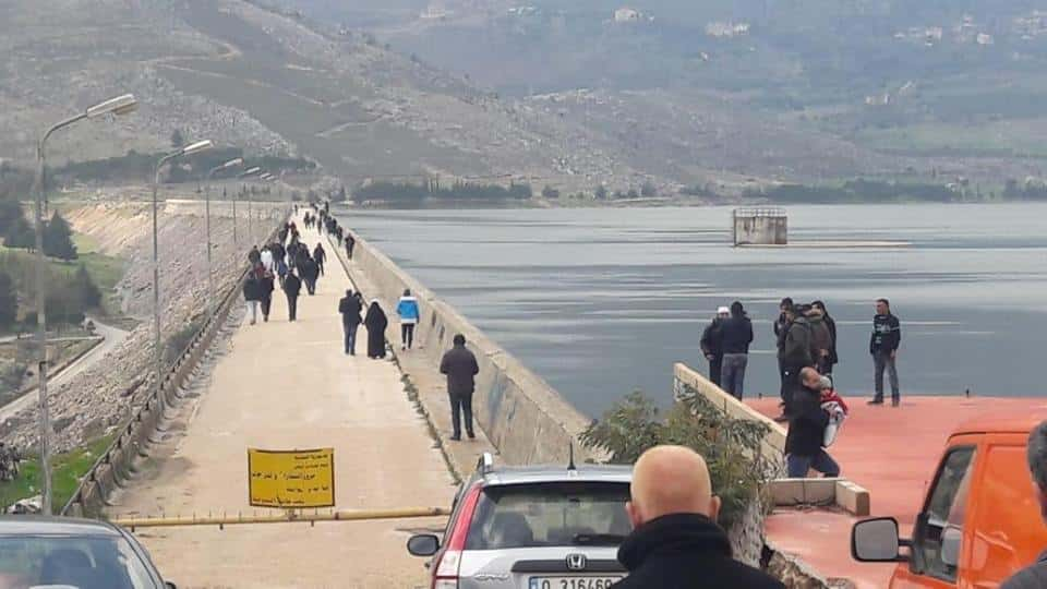 Le lac Qaraoun. Source Photo Facebook