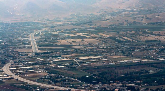 La région de Taanayel dans la Békaa. Crédit Photo: François Bacha pour Libnanews.com